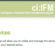 CIIFM – Fleet monitoring system