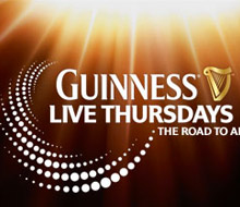 Guinness – Live Thursdays